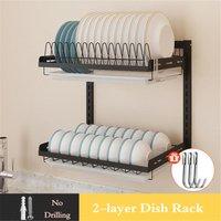 2 Levels Dish drainer - AUGIENB