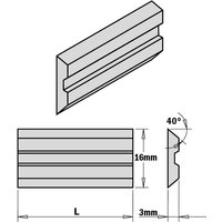 795.260.16 2-Piece Hps Planer And Jointer Knife Set For