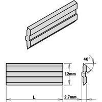 795.620.12 2-Piece Hps Planer And Jointer Knife Set For