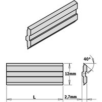 795.630.12 2-Piece Hps Planer And Jointer Knife Set For