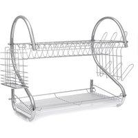2-tier kitchen rack, drying rack