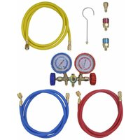 Asupermall - 2-way Manifold Gauge Set for Air Conditioning