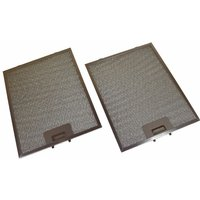 2 x Bosch Universal 320 x 260 mm Metal Cooker Hood GREASE FILTER
