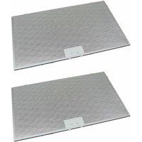 2 x Universal Cooker Hood Metal Grease Filter 506mm x 300mm - UFIXT