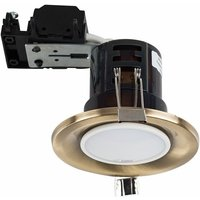 20 x Fire Rated GU10 Recessed Ceiling Downlights Spotlights