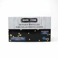 Silverstone - 200 LED Solar Firefly String Lights