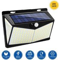 208L-ED Solar Lamp Motion Sensor 3 Modes IP65 Waterproof
