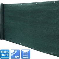 220g/m² Garden Privacy Shade Net Wall Screening Netting Balcony Windbreak Fence, 2x5M - LIVINGANDHOME