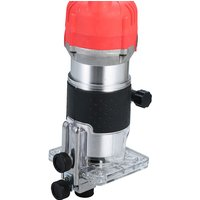 220V 800W Trim Router 30000r/min with Transparent Base Edge Guide Wood Laminate Electric Trimmer