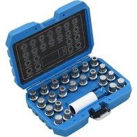 23 Piece Rim Lock Socket Set for VAG9019-Serial number