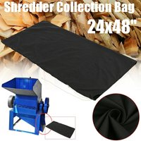 24x48  Black Wood Leaf Chipper Shredder Collection Bag Craftsman MTD Mohoo