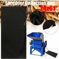 24x61  Black Wood Leaf Chipper Shredder Collection Bag Craftsman MTD LAVENTE