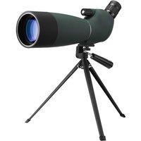 25-75X70 Monocular HD Telescope Waterproof Zoom BAK4 Tracking + Phone Tripod Hasaki
