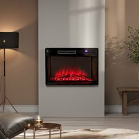 26 inch Electric Insert Heater Fireplace 3 Flame Colours with Remote Control