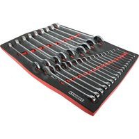 26 Piece Industrial Combination Spanner Set in Tool Control Full Width F - Kennedy