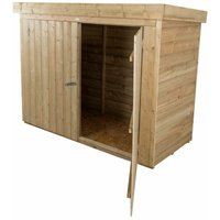 28 x 63 Pent Large Outdoor Store - Pressure Treated (1.9m x 0.9m) - WORCESTER