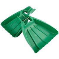 2x Leaf Scoop Garden Leaves Hand Rake Grabber Lawn Yard Debris Rubbish Collector