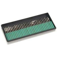 30 Piece Rotary Diamond Burr Set Kit Compatible Multi Tool Accessories - Dremel
