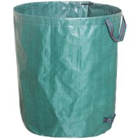Betterlifegb - 300L PE Garden Waste Bag Solid PE Waste Bag - Freestanding and Foldable - Trash Bags for Garden Waste Green Lawn Foliage - Reusable