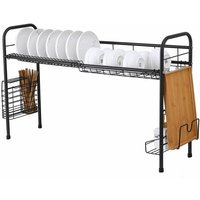 304 stainless steel dish drainer 60 cm BLACK
