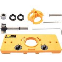 35mm Wood Drill Bits Hinge Drilling Tool Kit - ASUPERMALL