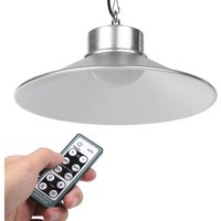 36 LEDs Solar Powered Ceiling Light Outdoor Patio Chandelier Remote Controller and Timmer Function with 5m/16.4ft Cable