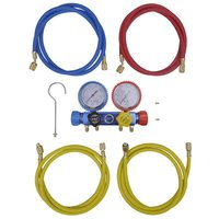 4-way Manifold Gauge Set for Air Conditioning VD04086
