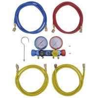 Zqyrlar - 4-way Manifold Gauge Set for Air Conditioning