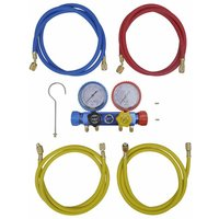 Asupermall - 4-way Manifold Gauge Set for Air Conditioning
