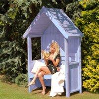 4 x 2 Wooden Seat Arbour - OAKHAM ARBOURS (S)