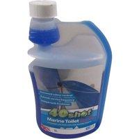 40 Shot Toilet Fluid Booster - Boat Cleaner Disinfectant Long Lasting Blue Chemical Caravan