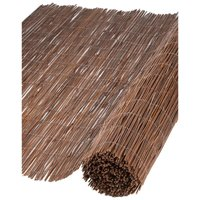 Garden Screen Willow 1x3 m 10 mm Thick - Nature