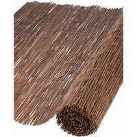 Garden Screen Willow 1.5x3 m 10 mm Thick - Nature
