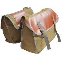 Asupermall - 40L Bike Trunk Bag Bicycle Luggage Carrier Bag Cycling Bicycle Rack Rear Seat Bag Pannier,model:Khaki