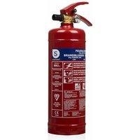 Smartwares Powder Fire Extinguisher BB2 2 kg Class ABC Steel 10.014.68