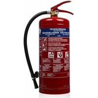 Powder Fire Extinguisher BB6 6 kg Class ABC Steel 10.014.72 - Smartwares