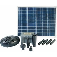 SolarMax 2500 Set with Solar Panel, Pump and Battery - Ubbink