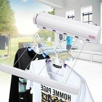 5 line 3.75m 12ft retractable clothes drier dryer hanger washing line wall-mounted laundry room WASHING