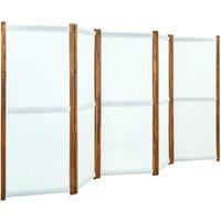 Betterlifegb - 5-Panel Room Divider Cream White 350x170 cm25342-Serial number