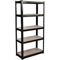 5 Tier Shelf, Black