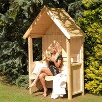 5 x 2 Wooden Seat Arbour