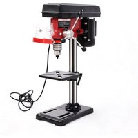 Livingandhome - 500W Pillar Drill Bench Top 9 Speed Press Machine Table Stand 16mm Chuck 230V