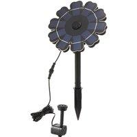 Decdeal - 5.5V 3.5WSolar Fountain Pump for Bird Bath Flower