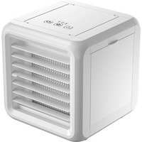 Kingso - 5W Mini Portable Air Conditioner Fan USB Port LED 7 Colors With 2 Water Tanks
