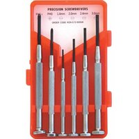 6-Pce Precision Screwdriver and Tool Set - Kennedy