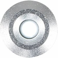 6 x 15Mm White LED Round Garden Decking / Kitchen Plinth Lights Kit - Ip67