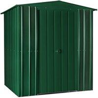 6 x 4 Premier EasyFix – Apex – Metal Shed - Heritage Green (1.84m x 1.23m)