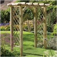 6 x 46 Forest Premium Garden Pergola Arch (1.82x1.36m)
