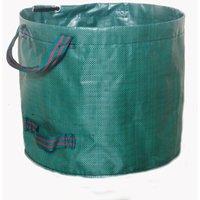 60L Garden Bag Garden Waste PE Solid - Freestanding and Foldable - Trash Bags for Garden Waste Green Green Green Foliage - Reusable