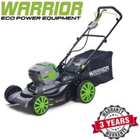 WARRIOR - 60v Warrior Lawn Mower With 2 * Battery And Charger (Self Propelling) - WEP82423M-BC - WARRIOR ECO POWER EQUIPMENT